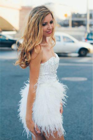 Коктейльные платья в прокат Москва White Angel Cocktail Dress