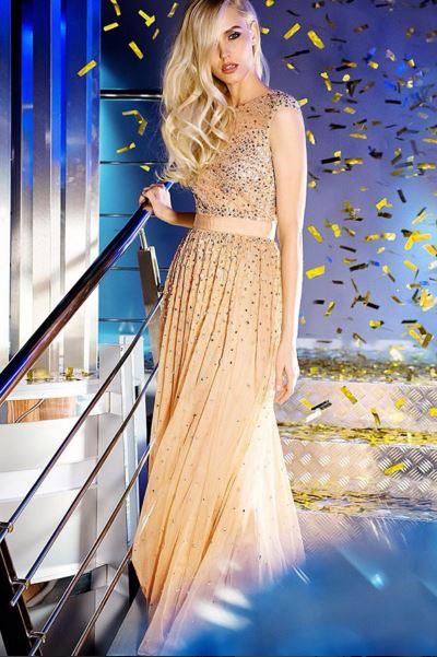 Вечерние платья в прокат Москва Luxury Crystals Evening Dress
