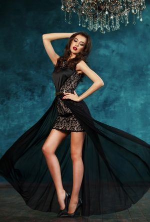 Black Popular Evening Dress New