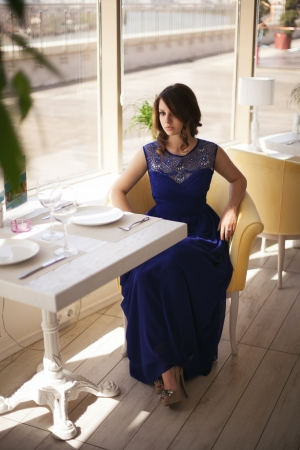 Blue Serenity Evening Dress