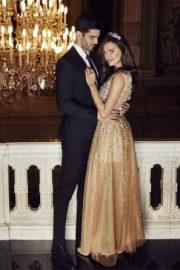 Luxury Crystals Evening Dress