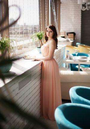 Pink Serenity Evening Dress