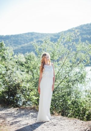 White Snow Evening Dress