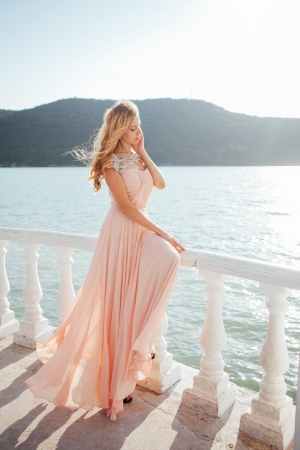 Sherri Hill Exclusive Pink Evening Dress