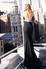 Tarik Ediz Black Classic Elegance Dress