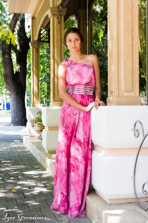 Original Pink Evening Dress