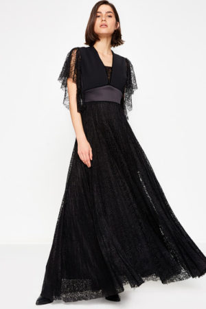 Classic Black Exclusive Long Dress