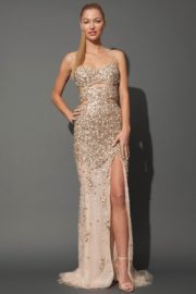 Jovani Crystal Evening Dress