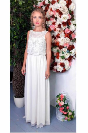 Wedding White Evening Dress