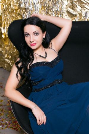 Blue Dark Jovani Evening Dress