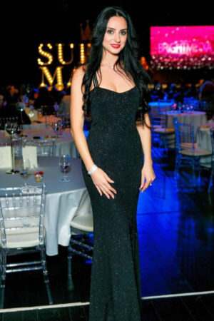 Black Experiment Evening Dress