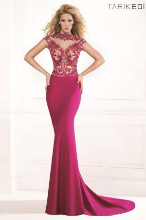 tarik_ediz_cherry_evening_dress