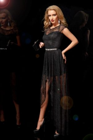 Black Lace Dress Popular