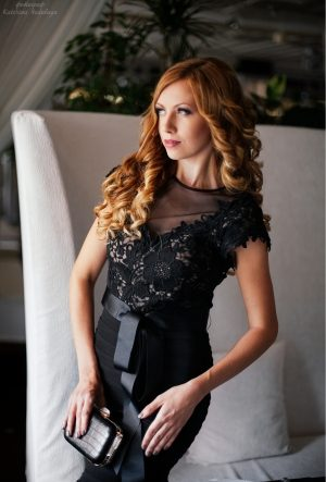 Black Beautiful Evening Dress