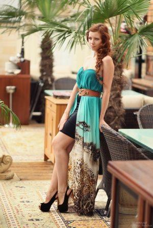 Modern Corset Evening Dress