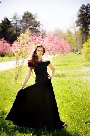 Tight Black Evening Dress