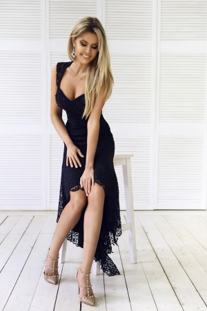 Black Party Evening Dress