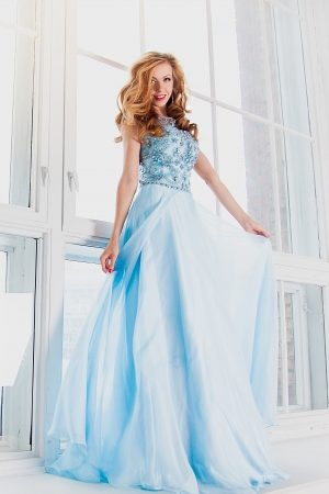 Jovani Exclusive Sky Evening Dress