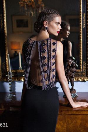 Couture Powder Tarik Ediz 92631 Evening Dress